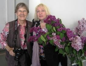 Myrna Walberg and Tatiana Poliakova